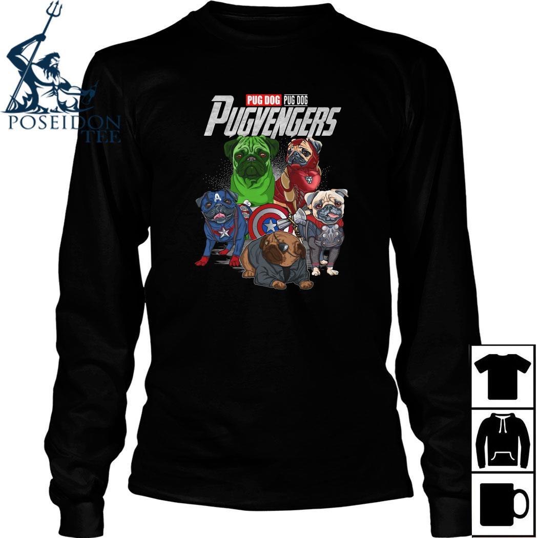 Marvel Pug Dog Pugvengers Shirt Long Sleeved