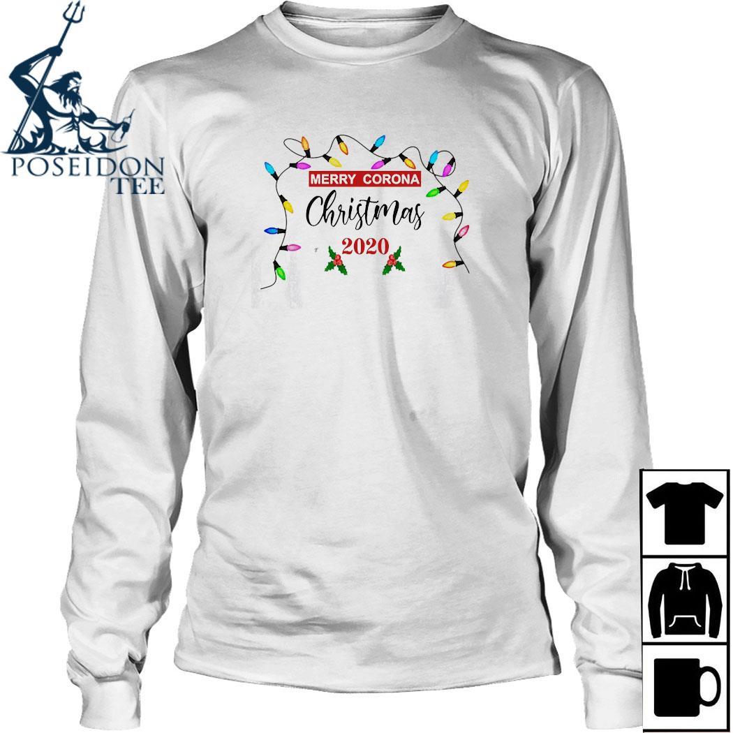 Merry Corona Christmas 2020 Shirt Long Sleeved