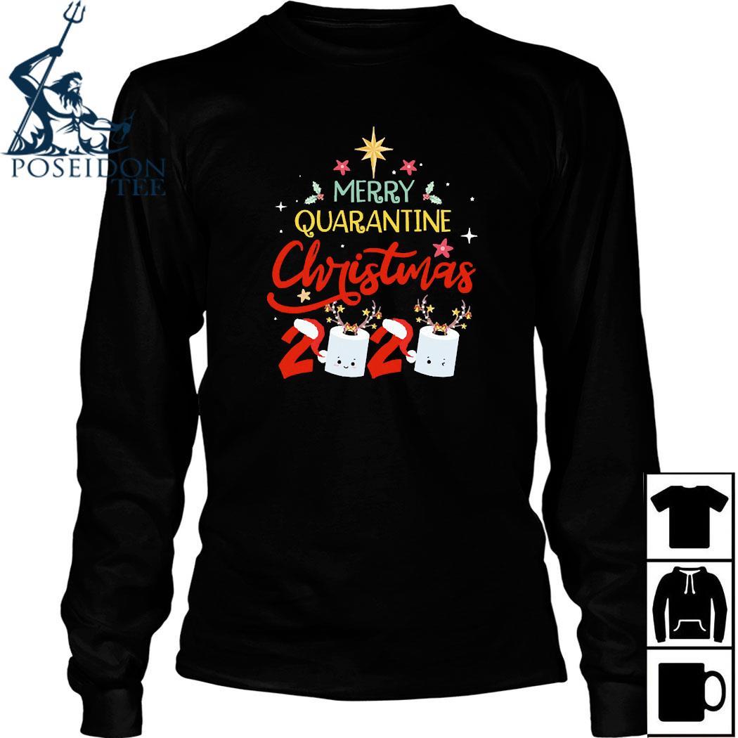 Merry Quarantine Christmas 2020 Shirt Long Sleeved