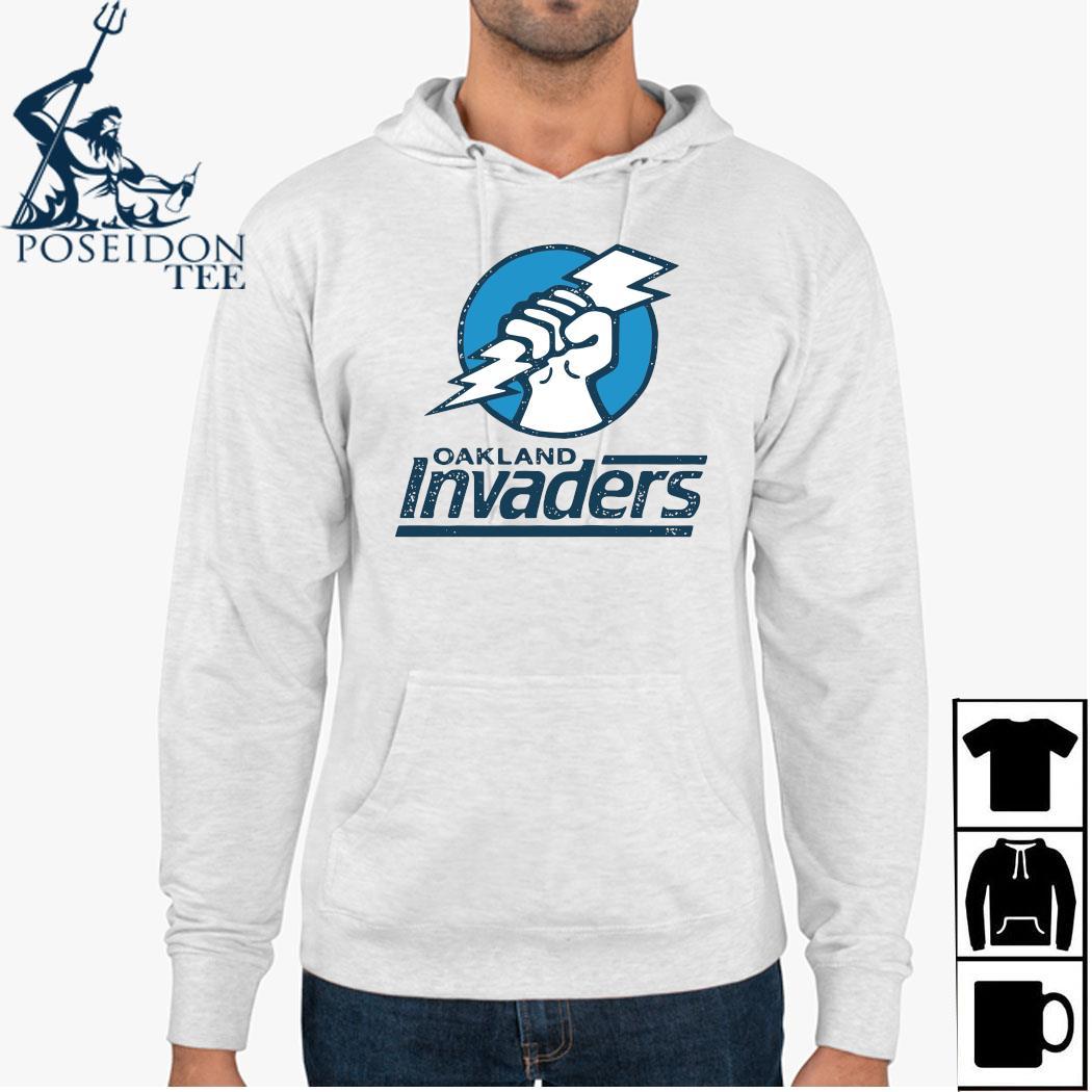 Oakland Invaders Football Shirt Hoodie