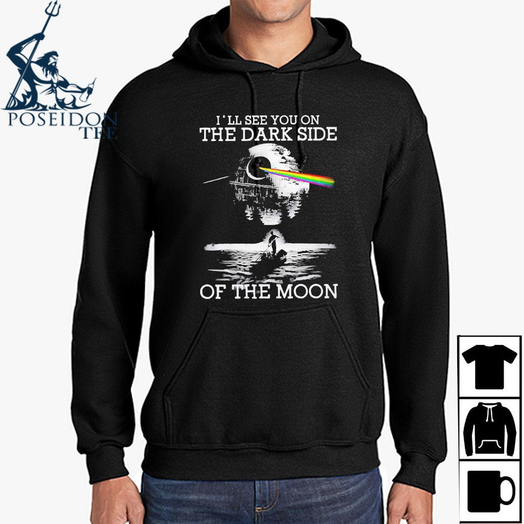 Pink Floyd I'll See You On The Dark Side Of The Moon Shirt Hoodie