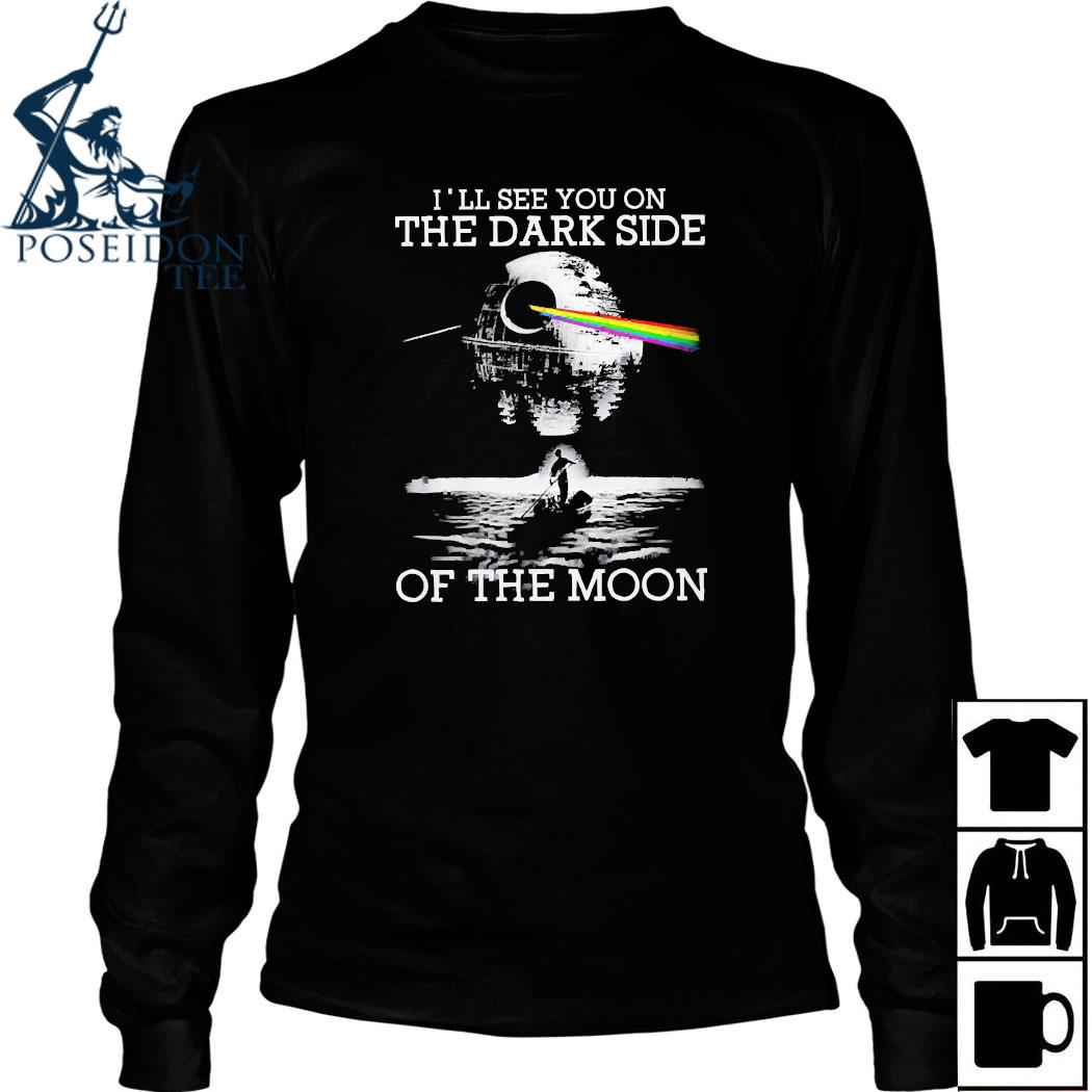 Pink Floyd I'll See You On The Dark Side Of The Moon Shirt Long Sleeved