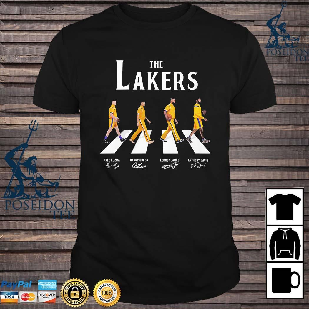 The Lakers Abbey Road Signatures Shirt