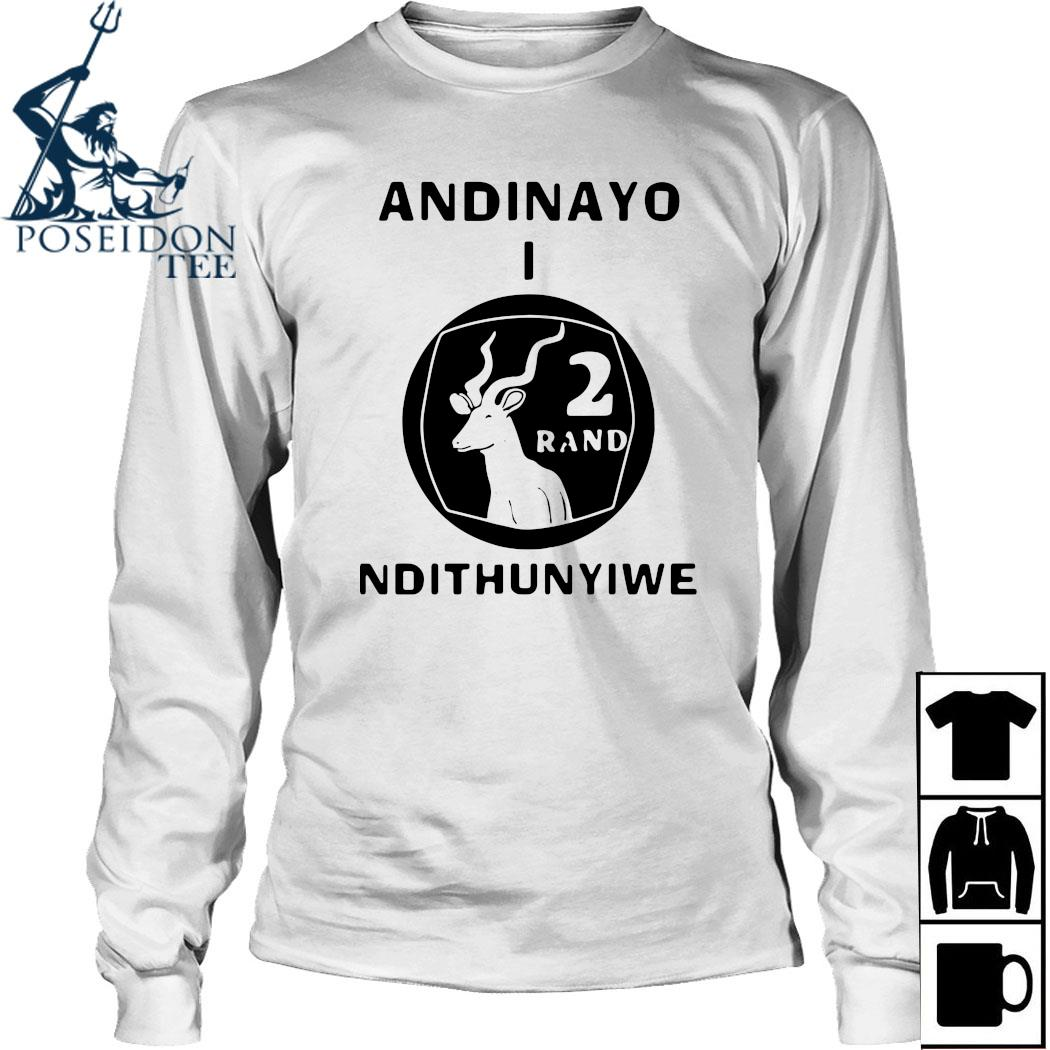 Andinayo Ndithunywe 2 Rand Deer Shirt Long Sleeved