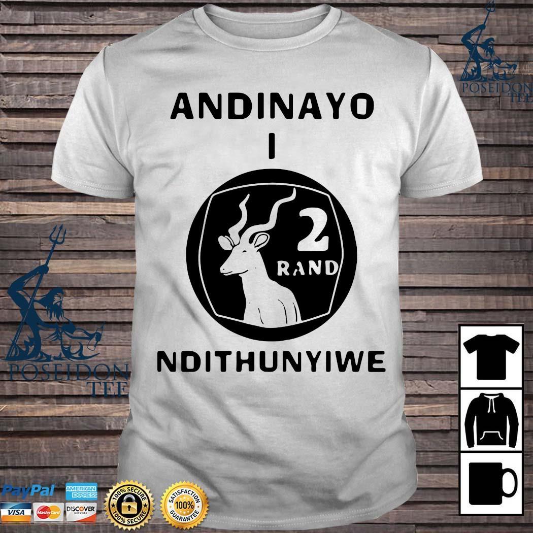 Andinayo Ndithunywe 2 Rand Deer Shirt