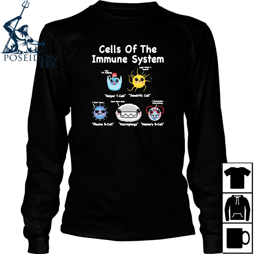 Cells Of The Immune System Shirt Long Sleeved