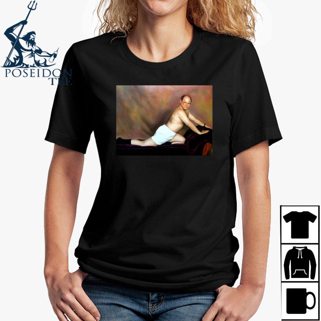 George Costanza Painting Shirt Ladies Shirt