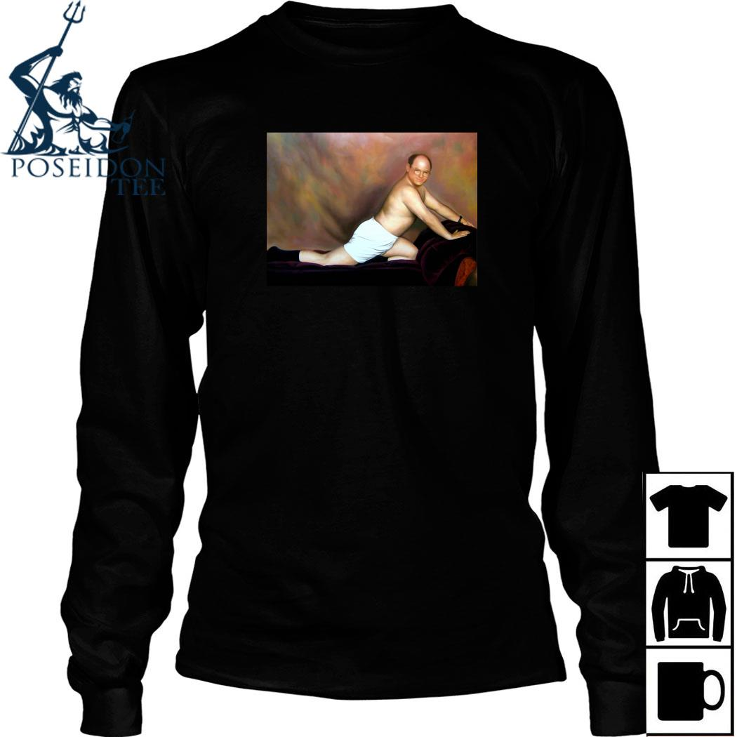 George Costanza Painting Shirt Long Sleeved