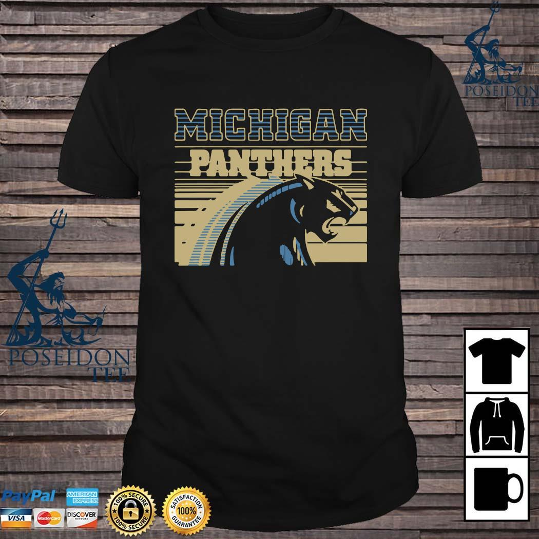 Michigan Panthers Football Shirt