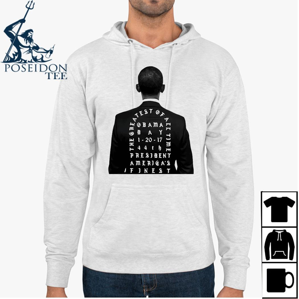 Obama The Greatest Of All Time President America Finest Shirt Hoodie