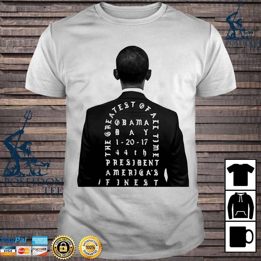 Obama The Greatest Of All Time President America Finest Shirt