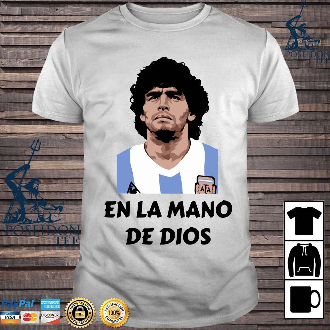 RIP Diego Maradona En La Mano De Dios Shirt