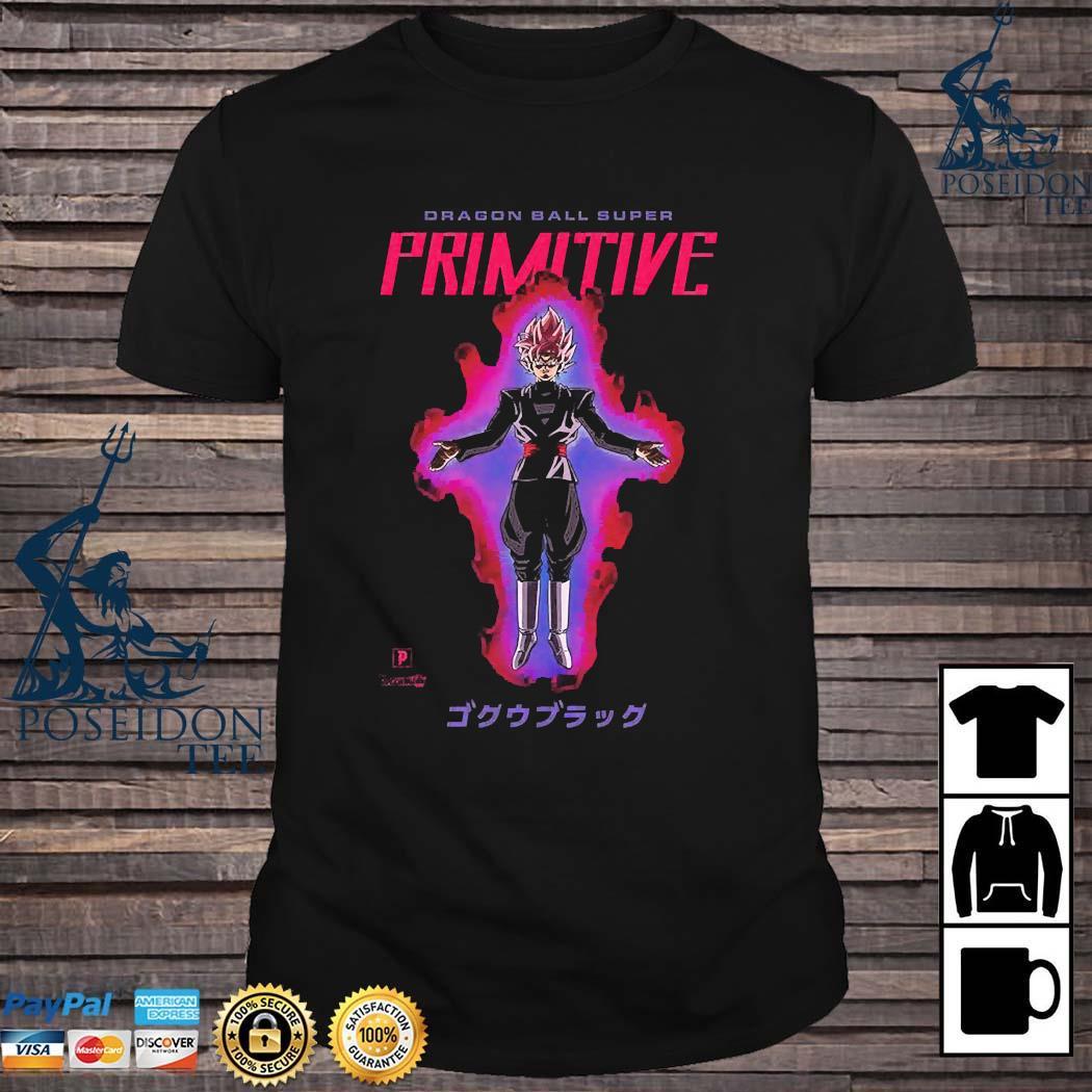 Goku Black Dragon Ball Super Primitive Shirt
