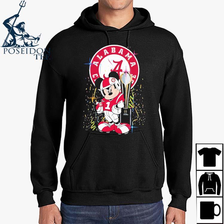 Alabama Crimson Tide Mickey Mouse Shirt Hoodie