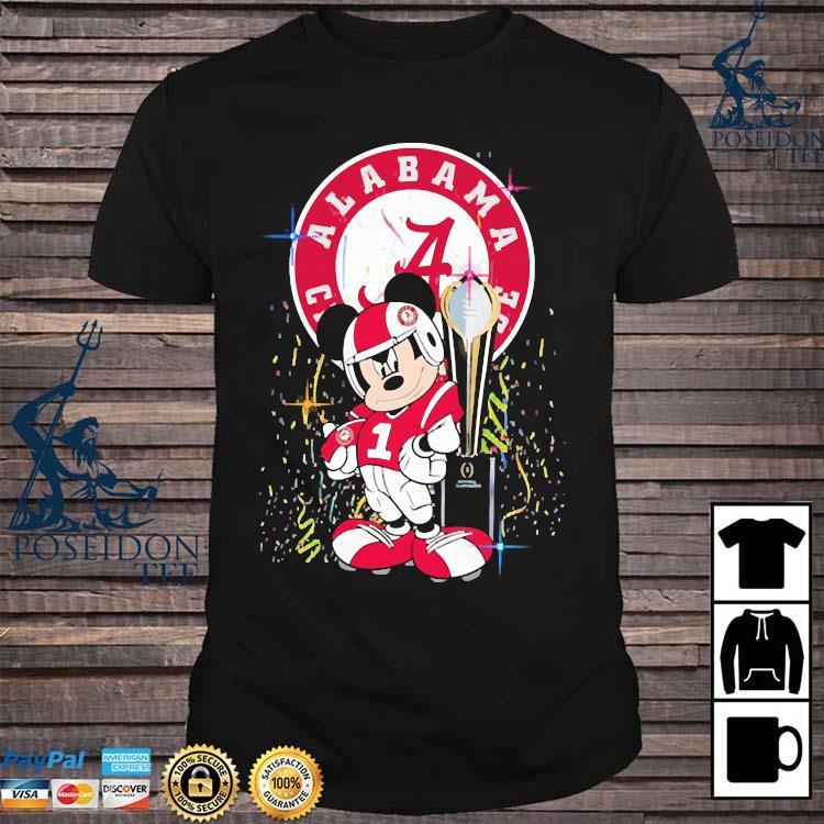 Alabama Crimson Tide Mickey Mouse Shirt