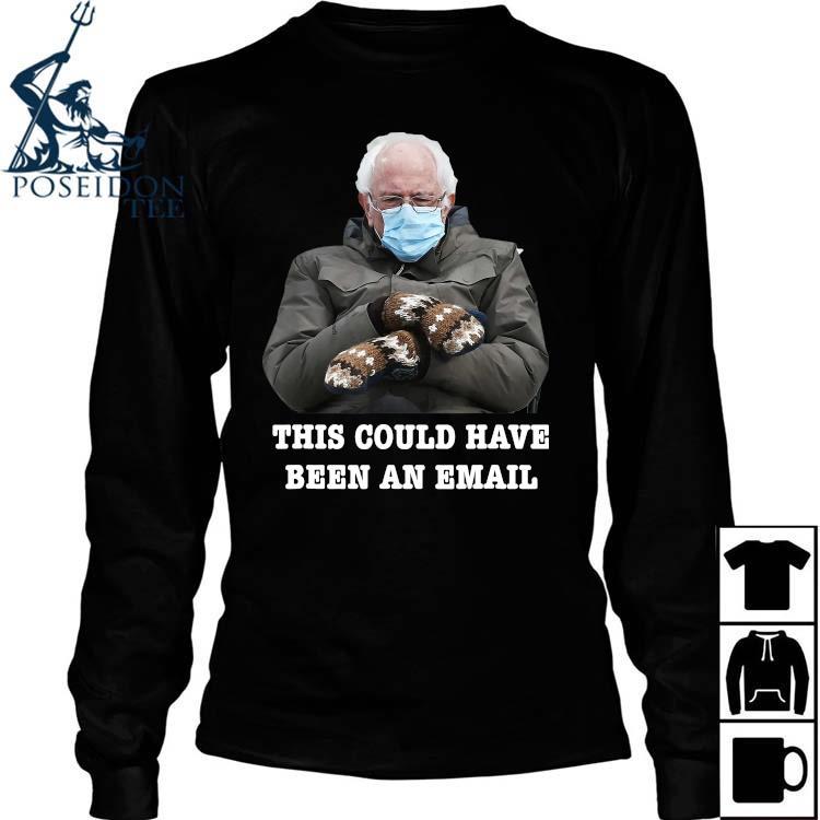Bernie Mittens Funny Bernie Sanders Meme Inauguration Day Shirt Long Sleeved
