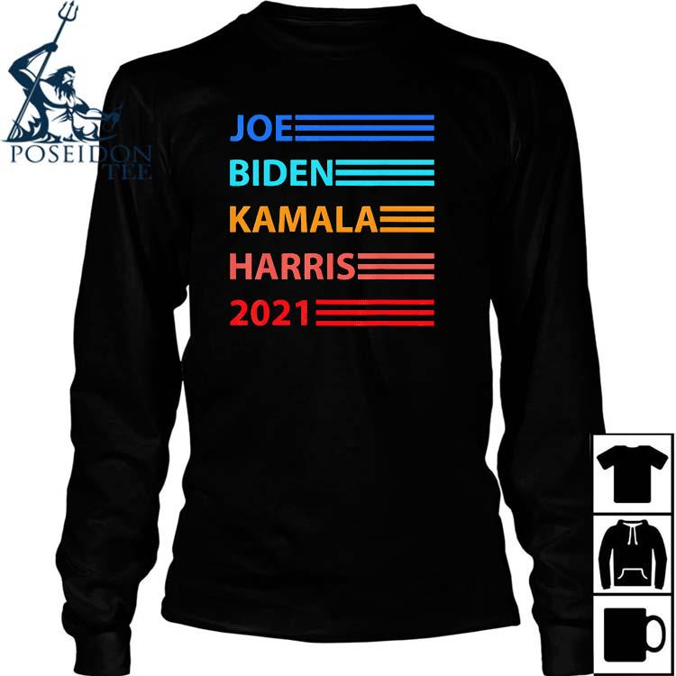 Biden Harris 2021 Joe Biden Kamala Harris Shirt Long Sleeved