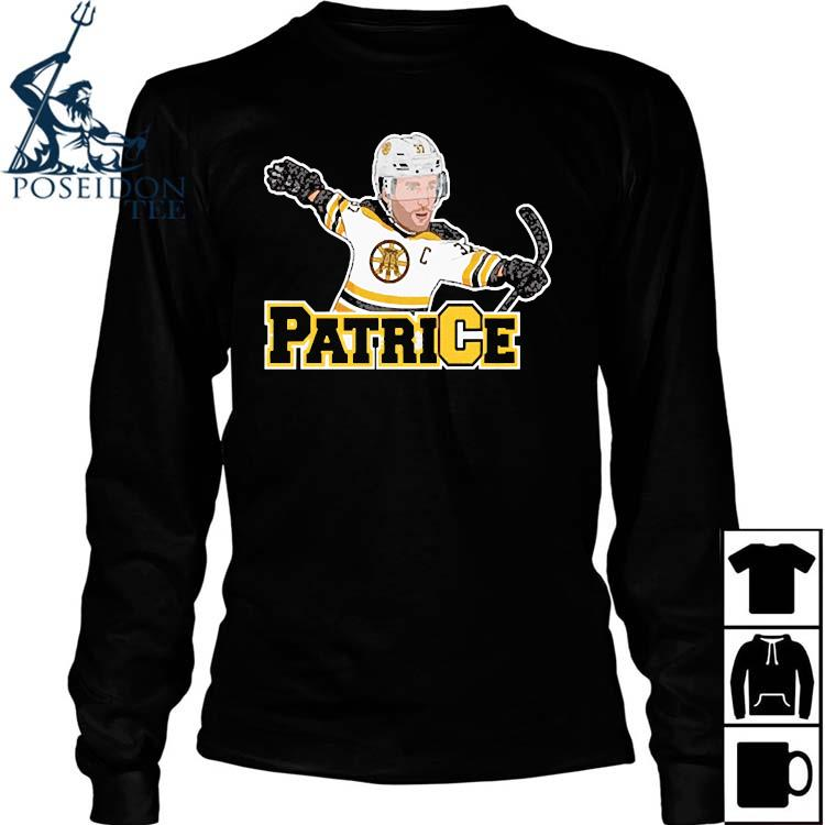 Captain Patrice Boston Bruins Shirt Long Sleeved