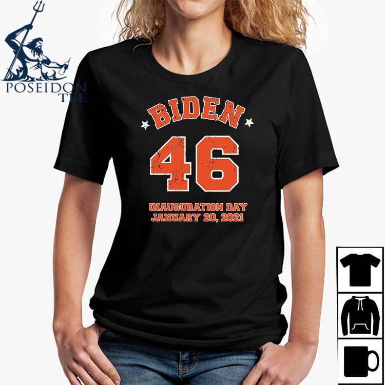 Inauguration Day Joe Biden 46th President Biden Harris 2021 Shirt Ladies Shirt