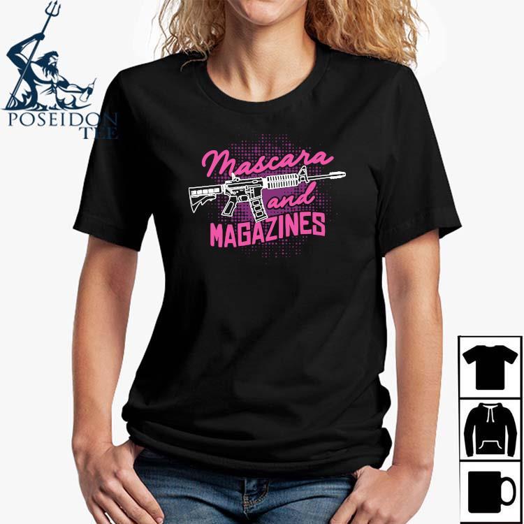 Mascara And Magazines Shirt Ladies Shirt
