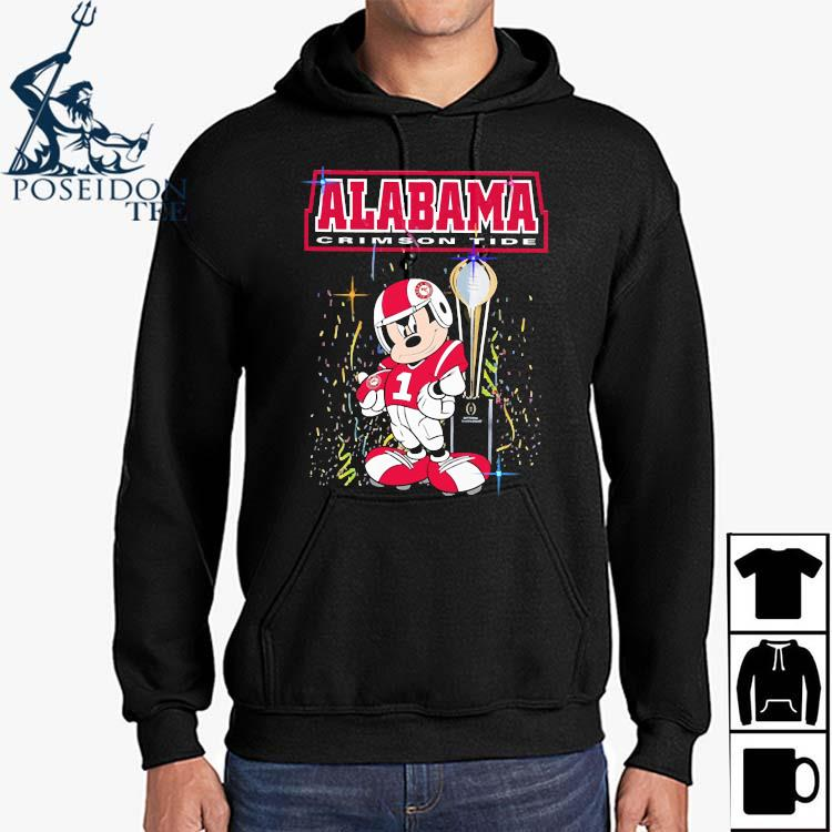 Mickey Mouse Alabama Crimson Tide Shirt Hoodie