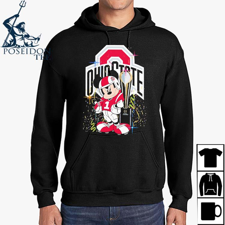 Mickey Mouse Ohio State Buckeyes Shirt Hoodie