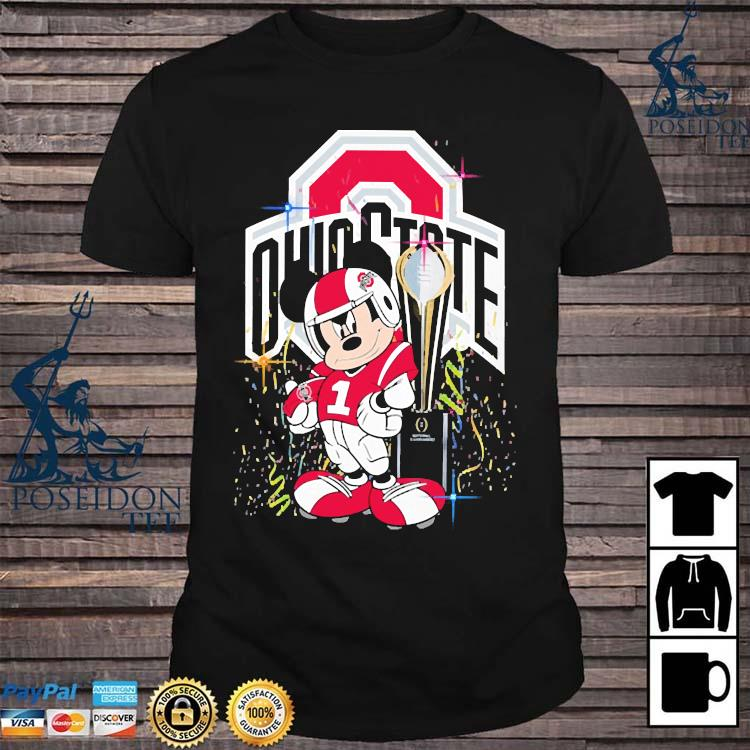 Mickey Mouse Ohio State Buckeyes Shirt
