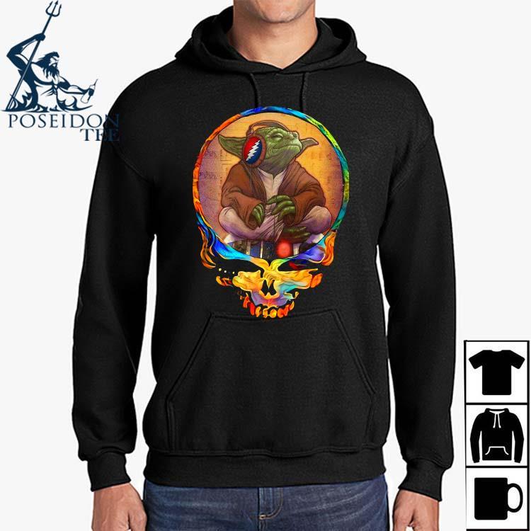 Yoda Listen To Grateful Dead Shirt Hoodie