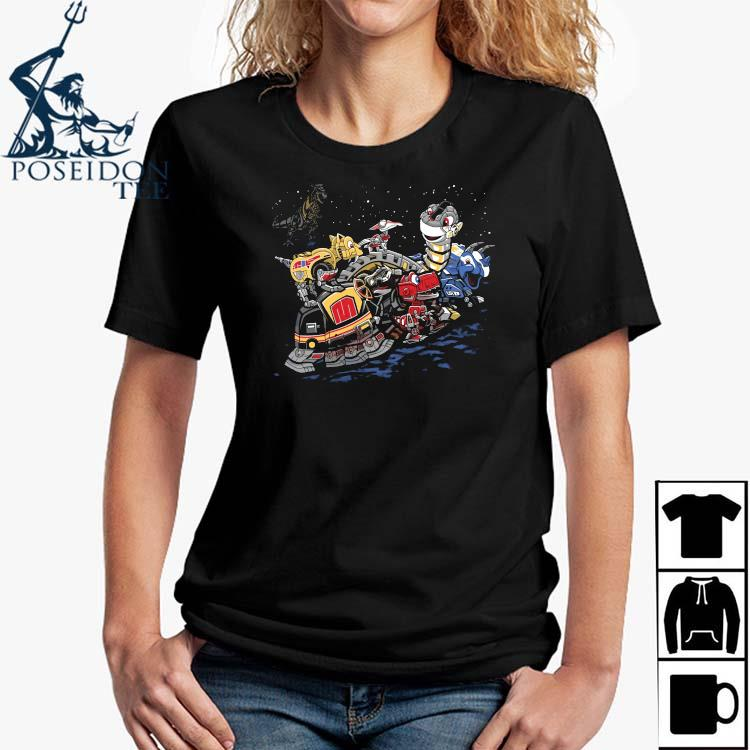 Zords Before Time Shirt Ladies Shirt