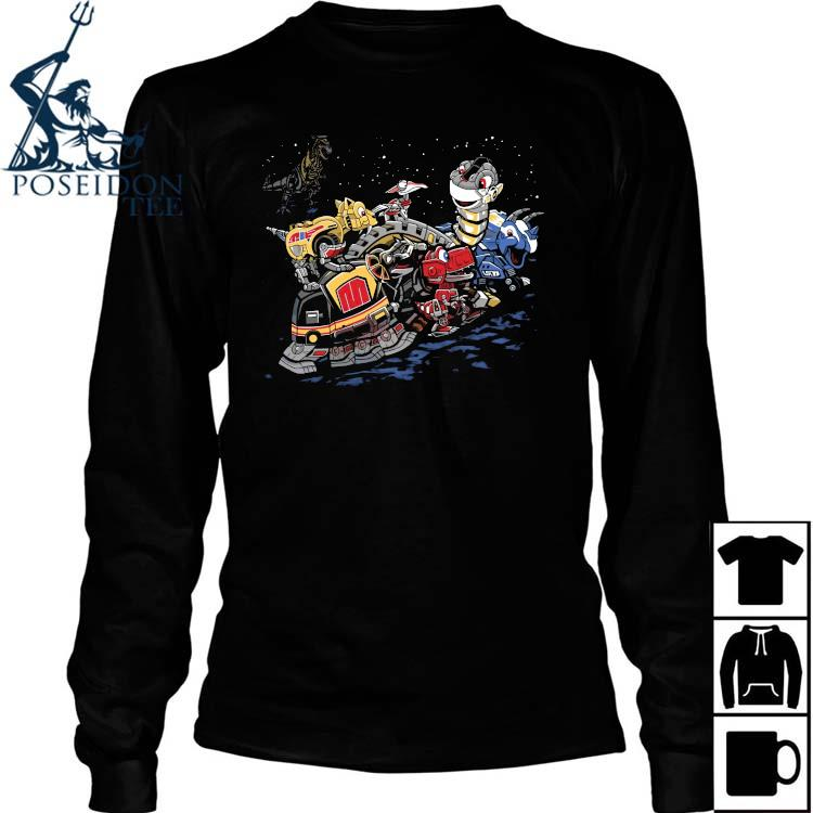 Zords Before Time Shirt Long Sleeved